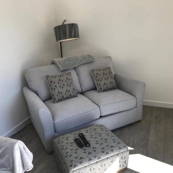 furnished garden room